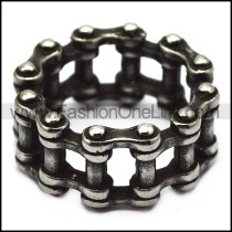 blacken stainless steel bicycle chain ring for riders r005728