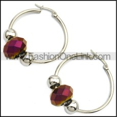 Stainless Steel Earring e001645