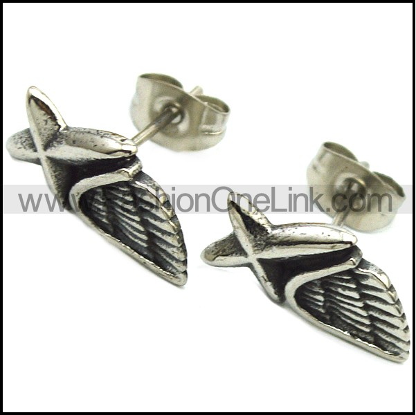 Stainless Steel Earring e001746