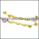 Stainless Steel Earring e001731