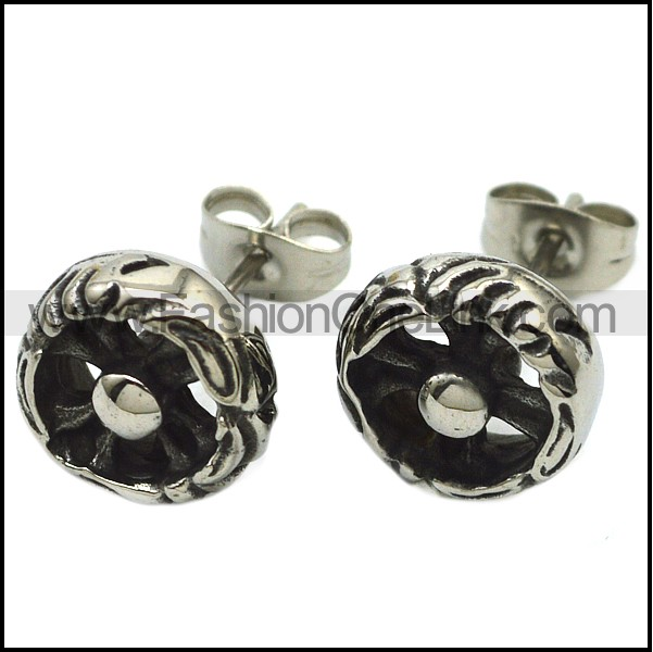 Stainless Steel Earring e001745