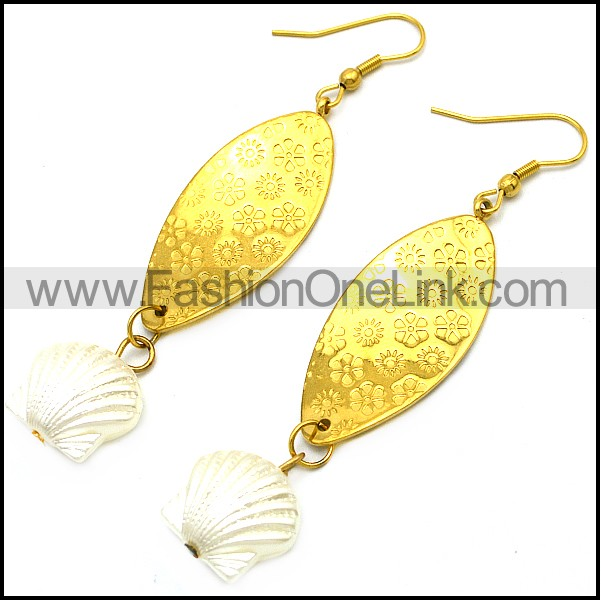 Stainless Steel Earring e001735