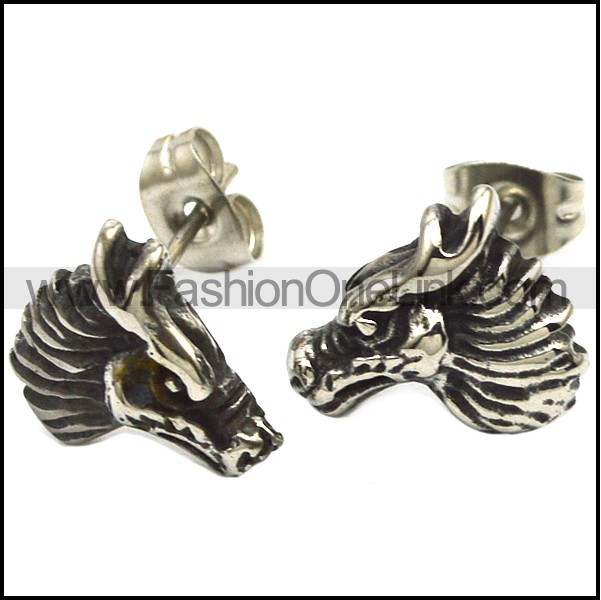 Stainless Steel Earring e001748