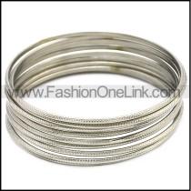 Stainless Steel Bangles b008728