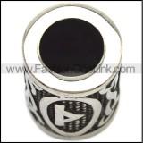 Stainless Steel Beard Beads a000871