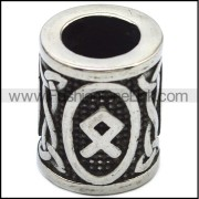 Stainless Steel Charm as Beard Beads a000872