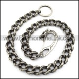 Vintage Steel Dragon Jean Chain in Casting y000015