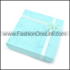 square paper gift box for bracelet pa0002
