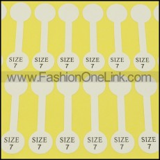 size 7 labels for rings pa0042