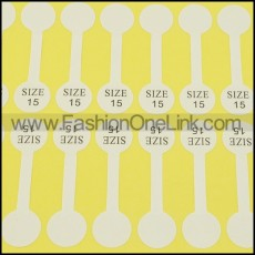 size labels for rings size 15 pa0034