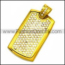 Stainless Steel Pendant p010215