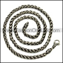 Stainless Steel Necklace n002887