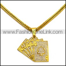 Stainless Steel Necklace n002977