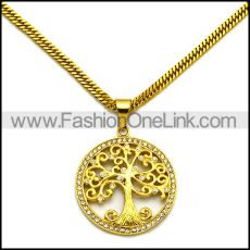 Stainless Steel Necklace n002980
