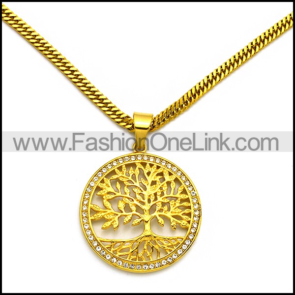 Stainless Steel Necklace n002982