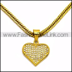 Stainless Steel Necklace n002992
