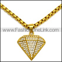 Stainless Steel Necklace n002943