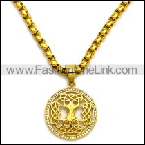 Stainless Steel Necklace n002930