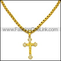 Stainless Steel Necklace n002898