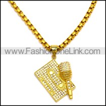 Stainless Steel Necklace n002915