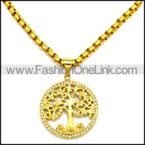 Stainless Steel Necklace n002925