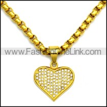 Stainless Steel Necklace n002937