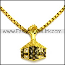 Stainless Steel Necklace n002903