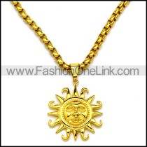 Stainless Steel Necklace n002922