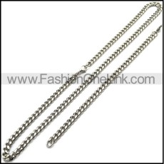 Stainless Steel Cuban Chain Sets s002937