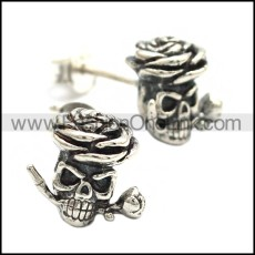 925 Sterling Silver Earring e002029