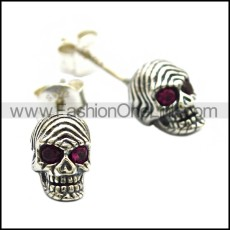 925 Sterling Silver Earring e002030