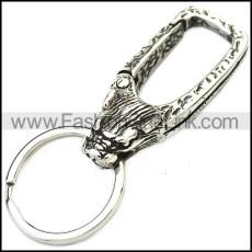 Stainless Steel Keychain k000077