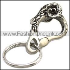 Stainless Steel Keychain k000065