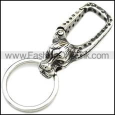 Stainless Steel Keychain k000073