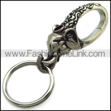 Stainless Steel Keychain k000070