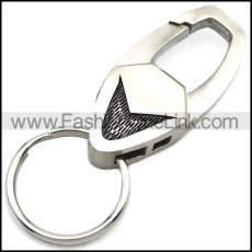 Stainless Steel Keychain k000062