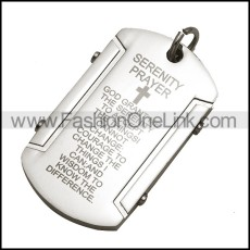 Stainless Steel Pendant p010237