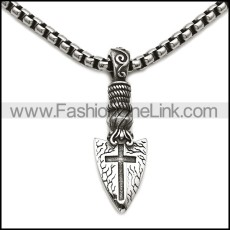 Stainless Steel Pendant p010285