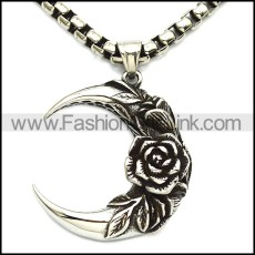 Stainless Steel Pendant p010317