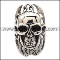 Exquisite Skull Stainless Steel Ring  r001705