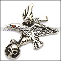 Delicate Stainless Steel Casting Pendant p002028