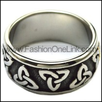 Vintage Stainless Steel Casting Ring  r003267