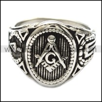 Exquisite Stainless Steel Casting Ring r003149