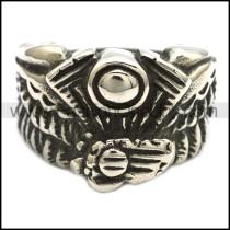 Fashion Stainless Steel Biker Ring  r002343