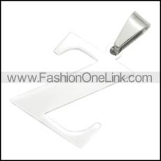 Stainless Steel Pendant p010419
