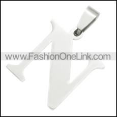 Stainless Steel Pendant p010407