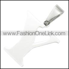 Stainless Steel Pendant p010418