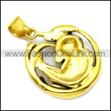 Stainless Steel Pendant p010331