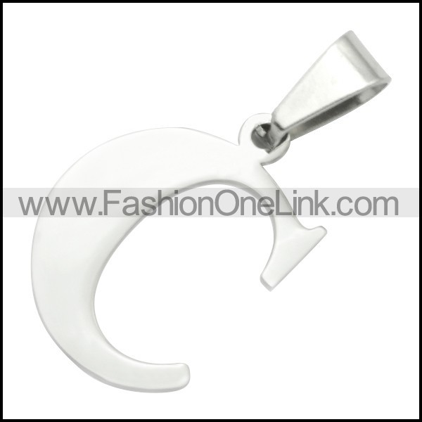 Stainless Steel Pendant p010396