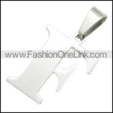 Stainless Steel Pendant p010399
